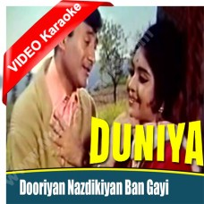 Doorian nazdikiyan ban - Mp3 + VIDEO Karaoke - Kishore Kumar