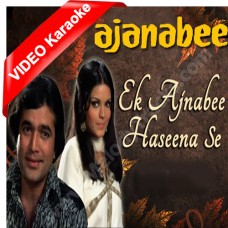 Ek ajnabi haseena se - Mp3 + VIDEO Karaoke - Kishore Kumar