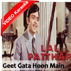 Geet gata hoon mein - Mp3 + VIDEO Karaoke - Kishore Kumar