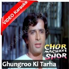 Ghunghroo ki tarha bajta hai - Mp3 + VIDEO Karaoke - Kishore Kumar