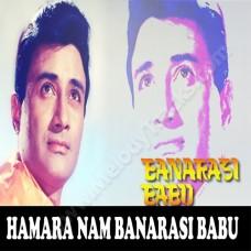 Hamara naam banarsi babu - Karaoke Mp3 - Kishore Kumar