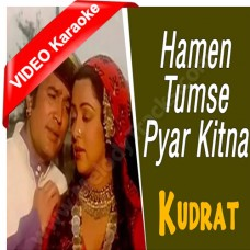 Hamen tumse pyar kitna - Mp3 + VIDEO Karaoke - Kishore Kumar