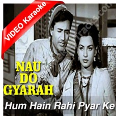 Hum hain rahi pyar ke - Mp3 + VIDEO Karaoke - Kishore Kumar