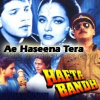 Ae Haseena Tera Jo Bhi Naam Hai - Karaoke Mp3 - Kumar Sanu - Hafta Bandh 1991