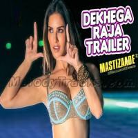 Dekhega Raja Trailer - Karaoke Mp3 - Neha Kakkar - Mastizaade