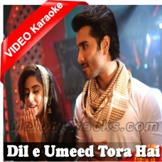 Dile Umeed Tora Hai Kisi Ne - Mp3 + VIDEO Karaoke - Asif Ali Santoo