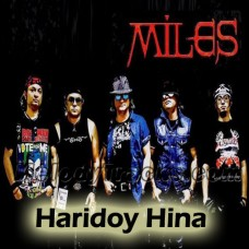 Hridoy Hina - Bangla Karaoke Mp3 - Miles Band