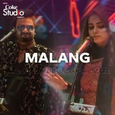 Malang - karaoke Mp3 - Sahir Ali Bagga - Aima Baig - Coke Studio