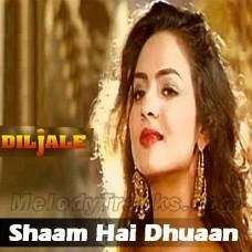 Sham Hai Dhuan Dhuan - Karaoke Mp3 - Poornima - Diljale - 1996