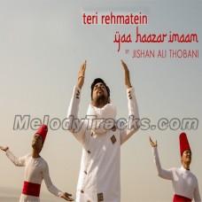 Teri Rehmatein Yaa Haazar Imaam - Karaoke Mp3 - Jishan Ali Thobani