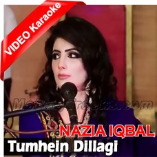 Tumhen Dillagi Bhool Jani - Without Chorus - Mp3 + VIDEO Karaoke - Nazia Iqbal