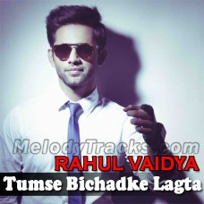 Tumse Bichadke Lagta Hai Aisa - Karaoke Mp3 - Rahul Vaidya