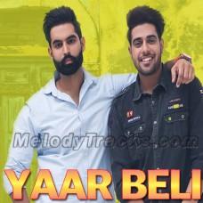 Yaar Beli - Karaoke Mp3 - Guri - Permish Verma - Punjabi Song