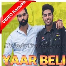 Yaar Beli - Mp3 + VIDEO Karaoke - Guri - Permish Verma - Punjabi Song
