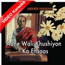 Aane Wali Khushiyon Ka Ehsas - Mp3 + VIDEO Karaoke - Mehdi Hassan - Bara Aadmi 1981