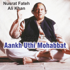 Aankh Uthi  Mohabbat Ne Angrayi - Karaoke Mp3 - Nusrat Fateh Ali - Shahenshah-E-Qawwal 1983