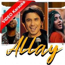 Allay Munja Maar Wara - Sindhi - Mp3 + VIDEO Karaoke - Ali Zafar - Urooj Fatima - Abid Brohi - 2020