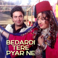 Bedardi Tere Pyar Ne Deewana Kar Diya - Karaoke Mp3 - Lata Mangeshkar 1991