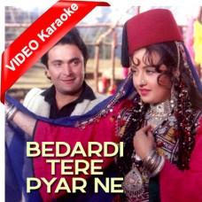 Bedardi Tere Pyar Ne Deewana Kar Diya - Mp3 + VIDEO Karaoke - Lata Mangeshkar 1991