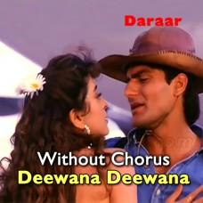 Teri Aankhon Ka Deewana Deewana - Without Chorus - Karaoke Mp3 - Abhijeet Bhattacharya - Sadhna Sargam