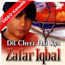 Dil Cheez Hai Kya Jana - Mp3 + VIDEO Karaoke - Zafar Iqbal