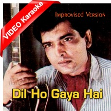 Dil Ho Gaya Hai - Improvised Version - Mp3 + VIDEO Karaoke - Tehseen Javed - Jeeva 1995