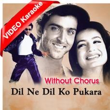 Dil Ne Dil Ko Pukara - Without Chorus - Mp3 + VIDEO Karaoke - Babul Supriyo