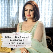 Dilbaro - Din Shagna - Madhaniya - Wedding Mashup - Karaoke Mp3 - Akriti Kakar