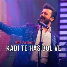 Kadi Te Hass Bol Ve - Karaoke Mp3 - Atif Aslam - Velo Sound 2020