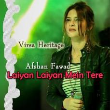 Laiyan Laiyan Main Tere Naal Dholna - Karaoke Mp3 - Afshan Fawad - Virsa Heritage 2019