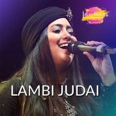 Lambi Judai - Live - Karaoke Mp3 - Hashdeep Kaur - Jashan e Rekhta
