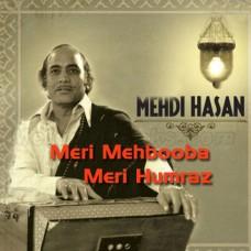 Meri Mehbooba Meri Humraz - Karaoke Mp3 - Mehdi Hassan - Diya Aur Toofan 1969