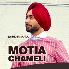 Motiyan Chameli - Karaoke Mp3 - Satinder Sartaaj - Punjabi