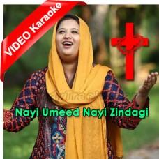 Nai Umeed Nayi Zindagi Hai Charni Se - Mp3 + VIDEO Karaoke - Tehmina Tariq