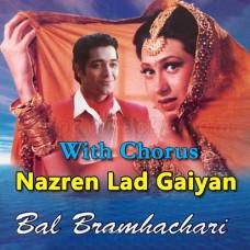 Nazren Ladgaiyan - With Chorus - Karaoke Mp3 - Vinod Rathod - Ram Shankar