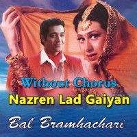 Nazren Ladgaiyan - Without Chorus - Karaoke Mp3 - Vinod Rathod - Ram Shankar