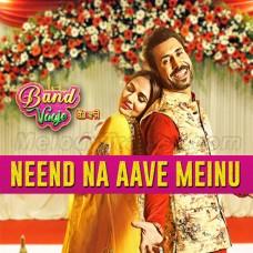 Neend Na Aave Mainu - Karaoke Mp3 - Sunidhi Chauhan - Gurshabad