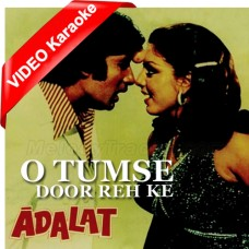 O Tumse Door Reh Ke - Mp3 + VIDEO Karaoke - Rafi - Lata Mangeshkar
