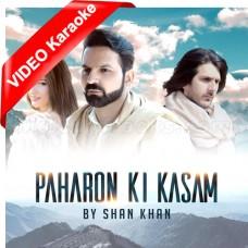 Paharon Ki Kasam - Mp3 + VIDEO Karaoke - Shan Khan