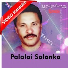 Palalai Salonka Benazena - Mp3 + VIDEO Karaoke - Yousaf Baloch 2020