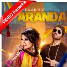 Paranda - Punjabi - Mp3 + VIDEO Karaoke - Kaur B - Paranda 2016