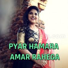 Pyar Hamara Amar Rahe Ga - Cover - Karaoke Mp3 - Debolinaa Nandy - Debashis Vaidya