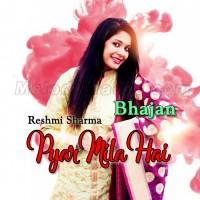 Pyar Mila Hai - Bhajan - Karaoke Mp3 - Reshmi Sharma - Khatu Shyam