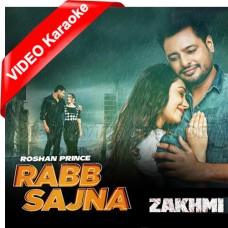 Rabb Sajna - Punjabi - Mp3 + VIDEO Karaoke - Roshan Prince