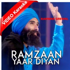 Ramzaan Yaar Diyaan - Mp3 + VIDEO Karaoke - Kanwar Grewal - Jogi Naath 2013