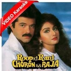Tu Roop Ki Rani Main Choron Ka Raja - Mp3 + VIDEO Karaoke - Kavita Krishnamurthy - Amit Kumar