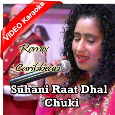 Suhani Raat Dhal Chuki - Remix Caribbean Band - Mp3 + VIDEO Karaoke - Geeta Bisram