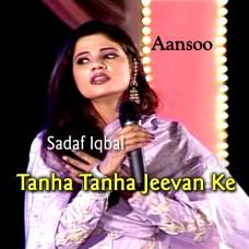Tanha Tanha Jeevan Ke - Aanso Ost - Karaoke Mp3 - Sadaf Iqbal