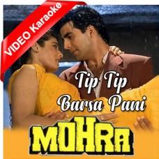 Tip Tip Barsa Paani - Mp3 + VIDEO Karaoke - Udit Narayan - Alka Yagnik