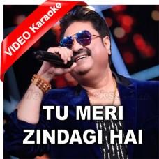 Tu Meri Zindagi Hai - Mp3 + VIDEO Karaoke - Kumar Sanu - Anuradha Paudwal